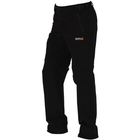 Regatta Xert II Stretch Zip of Trousers Regular Herren black